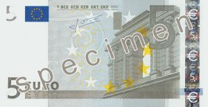 Kurs euro - front