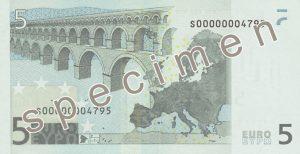 kurs euro - tył
