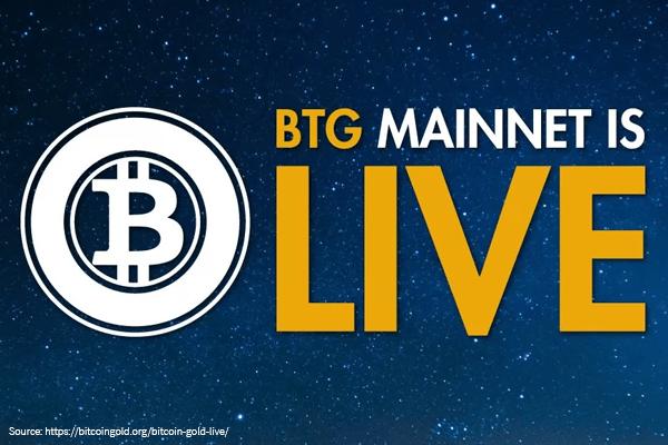 Mainnet Bitcoin Gold już działa!