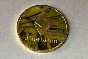 Ethereum w górę, inne kryptowaluty w dół