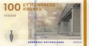 100 koron duńskich (DKK)