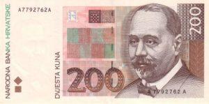 200 kun chorwackich awers