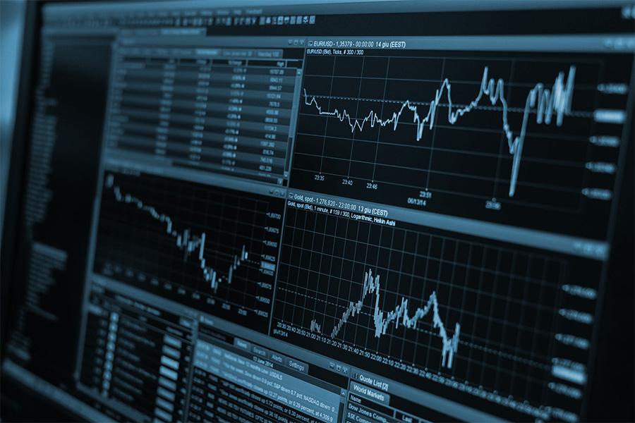 Przegląd dostępnych zleceń na rynku Forex.