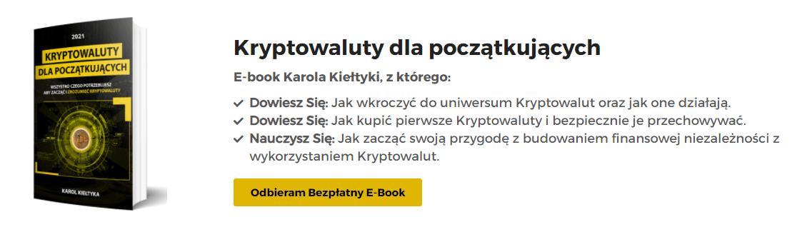 Kryptowaluty dla początkujących - bezpłatny e-book