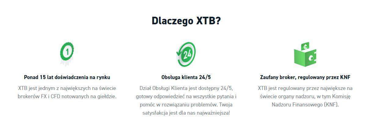 Dlaczego XTB?